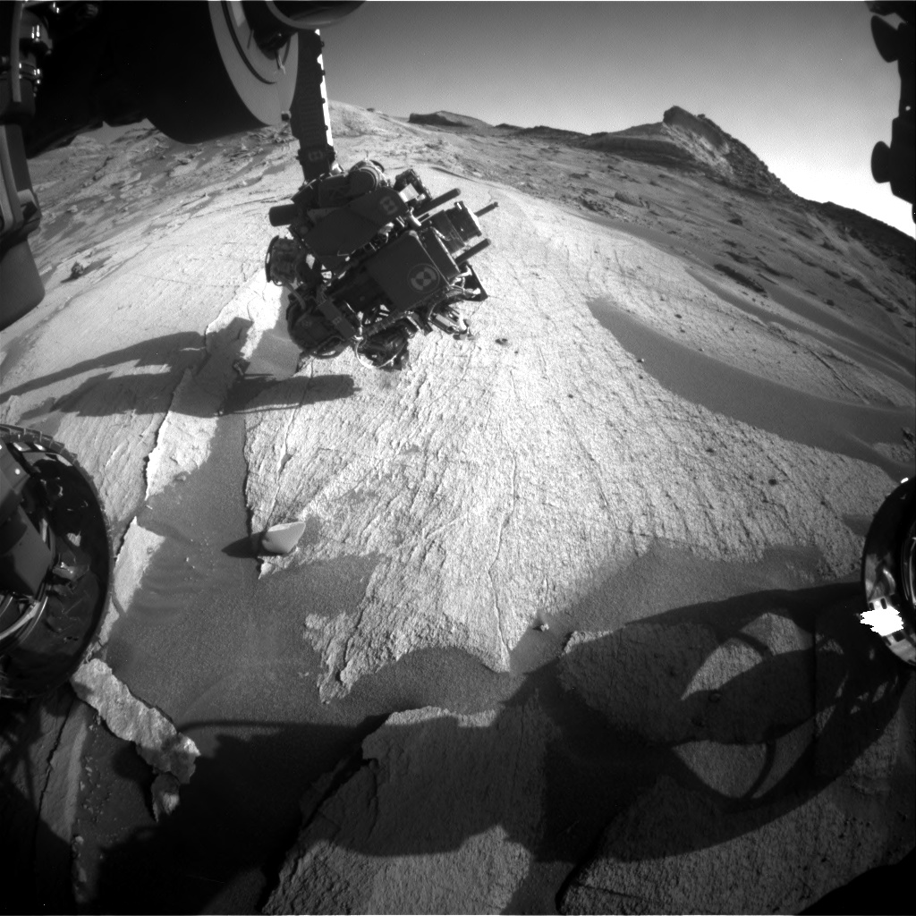 Today's Curiosity Mars Rover Image